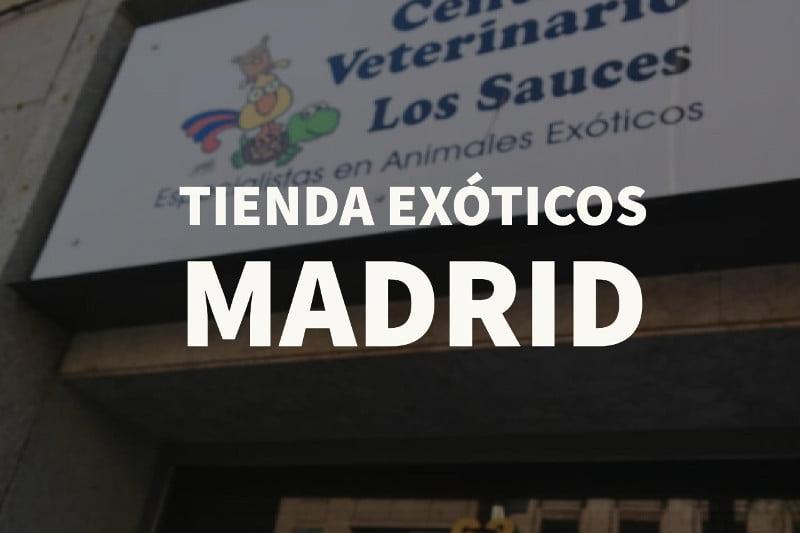 tienda exoticos madrid